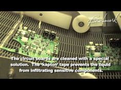 This video shows how circuit boards are populated for Benchmark's DAC series D/A converters. Circuit Board, Boards, Videos, Building, Planks, Buildings, Construction