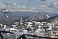 Klissoura, a highland village in Macedonia, North Greece