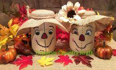Scarecrow familyfall decor mom dad girls and boys Create