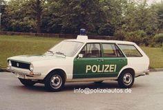 OG |Volkswagen / VW Passat Variant B1 / Mk1 |#Polizei