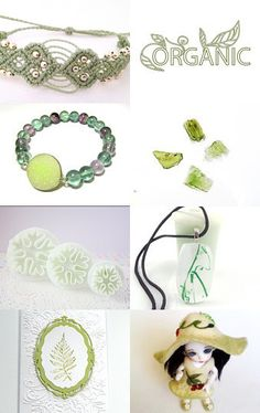 Best Green Gifts by Anna Margaritou on Etsy--Pinned with TreasuryPin.com