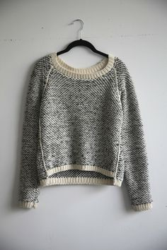 Emma Sweater from Kordal of New York ~ Inspiration and love this design
