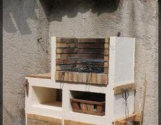 Mon Barbecue barbecue,béton cellulaire,bois palette,briques réfractaires