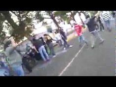 Protwccion ciudadana en Tachira. El pueblo confronta a la guardia, con verdades en su cara y protege a sus compañero para evitar detenidos.