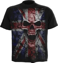 Spiral - Men - UNION WRATH - T-Shirt Black - XX-Large Spiral Direct, the Original. Made in England. This awesome rock like skull emblazoned with the flag of the UK is sure to give any lost soul some sense of belonging T-Shir (Barcode EAN = 5055428364642) http://www.comparestoreprices.co.uk/december-2016-4/spiral--men--union-wrath--t-shirt-black--xx-large.asp