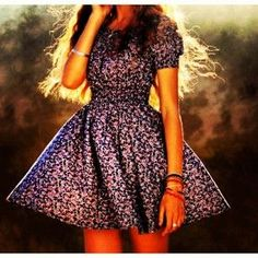 Sweet, I love the purple. Unique Dresses, Short Sleeve Dresses, Purple, My Style, Casual, Cute, Personal Space, Clothes, Beauty