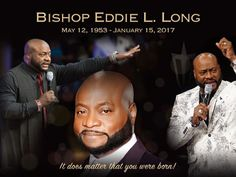 New Birth Missionary Baptist Church released the funeral time for Bishop Eddie Long& homegoing celebration. The controversial leader of one of the nation& biggest churches passed recently… Missionary Baptist Church, Td Jakes, Church News, Extraordinary People, Funeral, Birth, Celebrities, Life, Celebrity