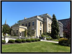 Buffalo NY ~ Butler Mansion. My parents were frequent dinner guests of Mrs. Butler, My mother gave Mrs. Butler's grandchildren private lessons in Spanish.