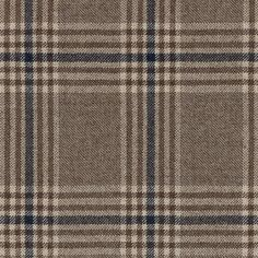 Vitale Barberis Canonico Beige Prince of Wales Worsted Wool-Cashmere Twill Fabric Chair Fabric, Wool Fabric, English Decor, Bespoke Suit, Iphone Wallpaper Tumblr Aesthetic, Fabric Textures, Prince Of Wales, Classic Elegance, Plaid Pattern