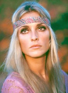 Sharon Tate.  A lesson in where to place my Nars highlighter