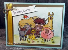 Just Looking In on You! by TexasGrammy - Cards and Paper Crafts at Splitcoaststampers