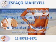Espaço Maheyell: #Massagem Modeladora