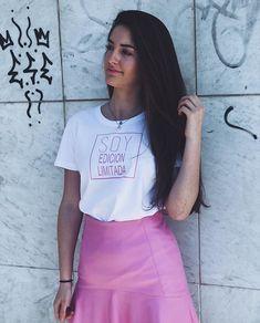 Camiseta Soy edición Limitada  Antes 2595  Ahora por 1995  WWW.PIOCCA.COM  #rebajas #piocca #soyedicionlimitada #marca #moda #almeria #pink Shirt Dress, T Shirt, Fan, Dresses, Fashion, T Shirts, Supreme T Shirt, Vestidos, Moda