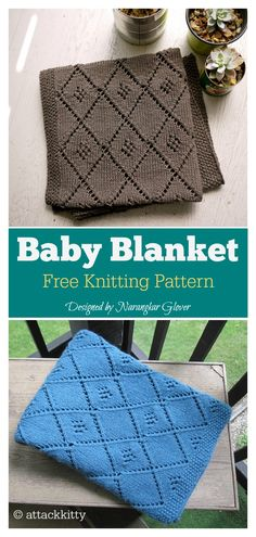 This baby blanket with single color has wonderful texture and design. This Chocolate Parfait Baby Blanket Free Knitting Pattern is so Free Baby Blanket Patterns, Poncho Knitting Patterns, Baby Patterns, Free Knitting, Knitted Afghans Patterns Free, Crochet Afghans, Knit Patterns, Knitted Baby Blankets, Crochet Baby Booties
