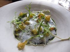 Noma, René Redzepi | Potato and milk skin, lovage and whey