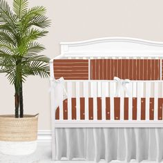 For our modern + minimal momma's out there. This Rust Red modern nursery look is complete with hand drawn stripes + coordinating Swiss cross pattern. We love how this look is modern and simple - leaving all the room for the baby to shine. Available in (9) color ways. Baby Boy Bedding Sets, Custom Baby Bedding, Baby Girl Crib Bedding, Baby Cribs, Crib Rail Cover, Thing 1, Red Bone, Gender Neutral, Bump