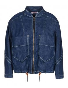 See by Chloé Drawstring Denim Jacket - Shop more denim pieces at ShopBAZAAR.com http://shop.harpersbazaar.com/trends/dressy-denim/