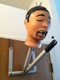 Dental Mannequin Head 1950's (it says 1950's but it looks like the ones at school today!)