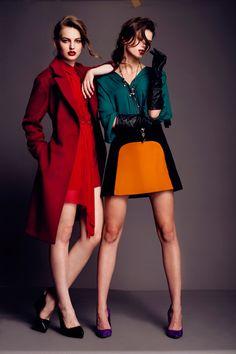 bold colours