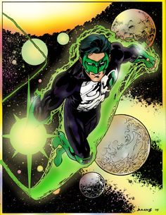 Green Lantern by Darryl Banks