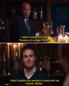 Quotes from Arrow Tv Series - Season 1