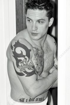 Tom Hardy Tattoos Fe Rocknrolla
