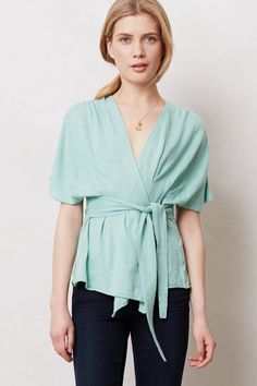 Draped Wrap Sweater / Anthropologie.com