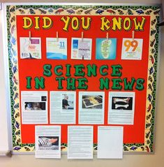 20 of the Best Science Bulletin Boards and Classroom Decor Ideas