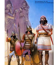 Assyrian warriors - 600s BC