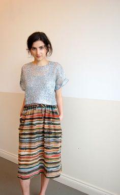 Stripes;Originality; fashion~<3
