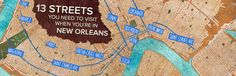 13 Streets You Need to Visit in New Orleans, Louisiana