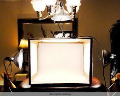 Cheri Quite Contrary: DIY Lightbox Tutorial