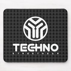 Shop Techno Streetwear - Logo - Mouse Pad created by TechnoStreetwear. Custom Mouse Pads, Volkswagen Logo, Marketing Materials, Invitation Cards, Techno, Art For Kids, Color Schemes, Art Pieces, Street Wear