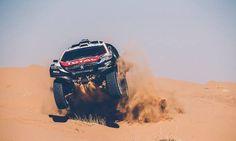 ¡Liberen a la bestia! El #Peugeot2008DKR ya se prepara para el #Dakar2016 en China.