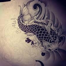 dragon koi tattoo color - Google Search
