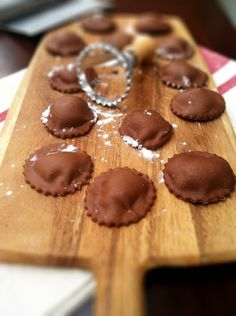 Oh wow! I need to make these Chocolate Ravioli by @Paula - bell'alimento