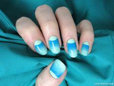 teal nails green teal nail art summer nails nail trends