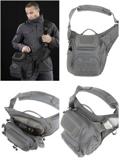 070d4884ed08 AGR™ Advanced Gear Research  WOLFSPUR™ Crossbody Shoulder Bag by  Maxpedition optimized for concealed carry.