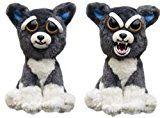 William Mark- Feisty Pets: Sammy Suckerpunch- Adorable 8.5 Plush Stuffed Dog That Turns Feisty With A Squeeze by William Mark