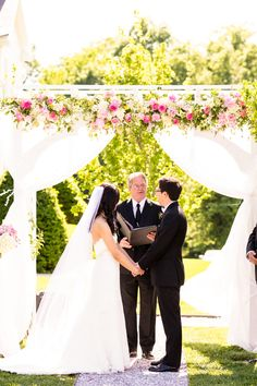 Romantic Maryland Wedding At Antrim 1844 from Procopio Photography. - wedding ceremony
