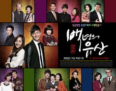 """ A Hundred Year's Inheritance"" - Min Chae Won (Eugene) is the eldest granddaughter of a noodle family, who comes back to the family business after a divorce. She eventually turns the small mom-and-pop operation into a ""designer noodle company"". Lee Se Yoon (Lee Jung Jin) is a guy who seems cold and prickly on the outside but is actually warm and cuddly on the inside."