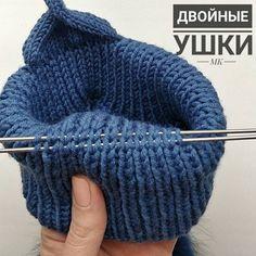 New Knitting Bag Diy Yarns 27 Ideas Knitting For Kids, Baby Knitting Patterns, Crochet For Kids, Knitting Stitches, Crochet Patterns, Crochet Beanie, Knit Crochet, Crochet Hats, Knitted Baby Clothes