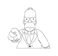 Homer Simpson I Want You stencil template Glass Etching, Etched Glass, Pinewood Derby Cars, Stencil Templates, Homer Simpson, Svg Cuts, Street Art, Projects To Try, Draw