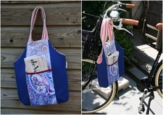 Summer Fling Bag Tutorial - Make a tote bag DIY that is perfect for your summer wardrobe ideas.