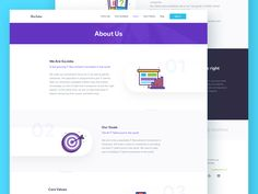 IT Recruitment Website - About Us by Sebo #Design Popular #Dribbble #shots