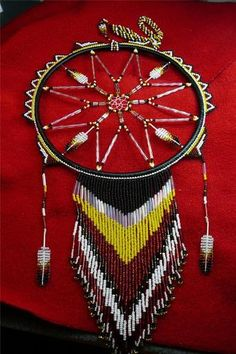Awesome Unique Totally Beaded Dreamcatcher Story