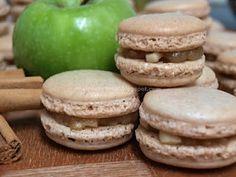 apple cinnamon macaroons