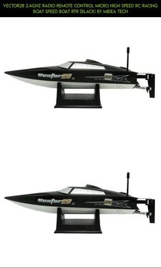 Vector28 2.4Ghz Radio Remote Control Micro High Speed RC Racing Boat Speed Boat RTR (Black) by Midea Tech #shopping #products #camera #racing #tech #fpv #plans #drone #gadgets #technology #volantex #boat #parts #kit