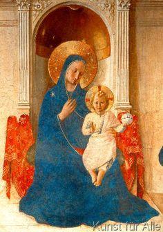 Fra Angelico - Fra Angelico, Madonna delle Ombre/Detail