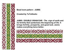 3 for 1 price  Bead loom pattern JUMIS Loom Beaded Bracelet